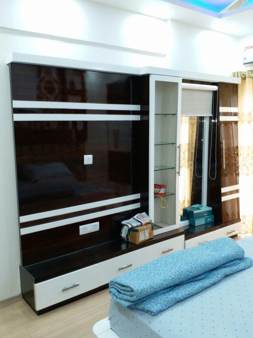 Modern bedroom with wooden flooring by Build Craft Associates  Bedroom Modern   Interior Design Photos & Ideas