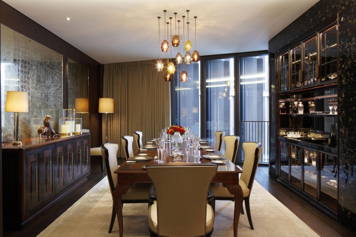 Lavish dining area styles by KA Design Dining-room Contemporary | Interior Design Photos & Ideas