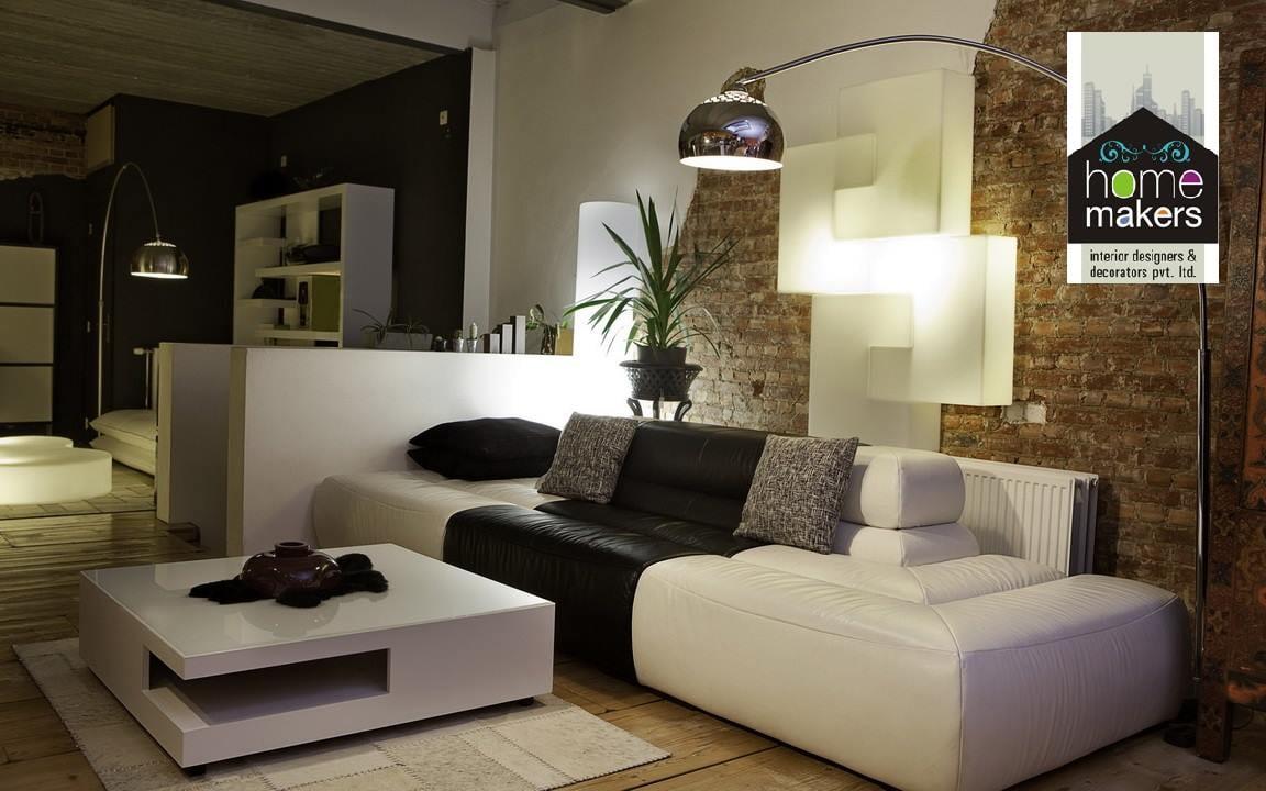 Stuffy Living Room With Lamp And Modern Sleek Center Table by Shishu Yadava Living-room Modern | Interior Design Photos & Ideas