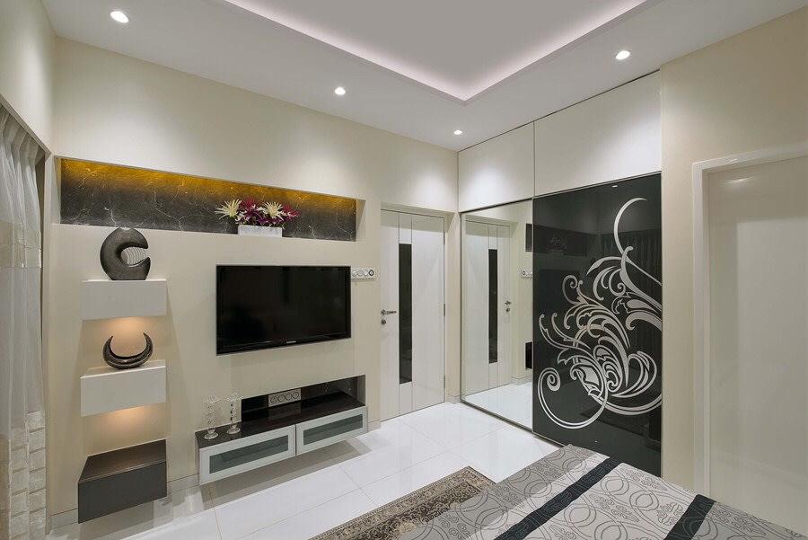 Contemporary Bedroom Design by Right Choice Enterprises Contemporary   Interior Design Photos & Ideas