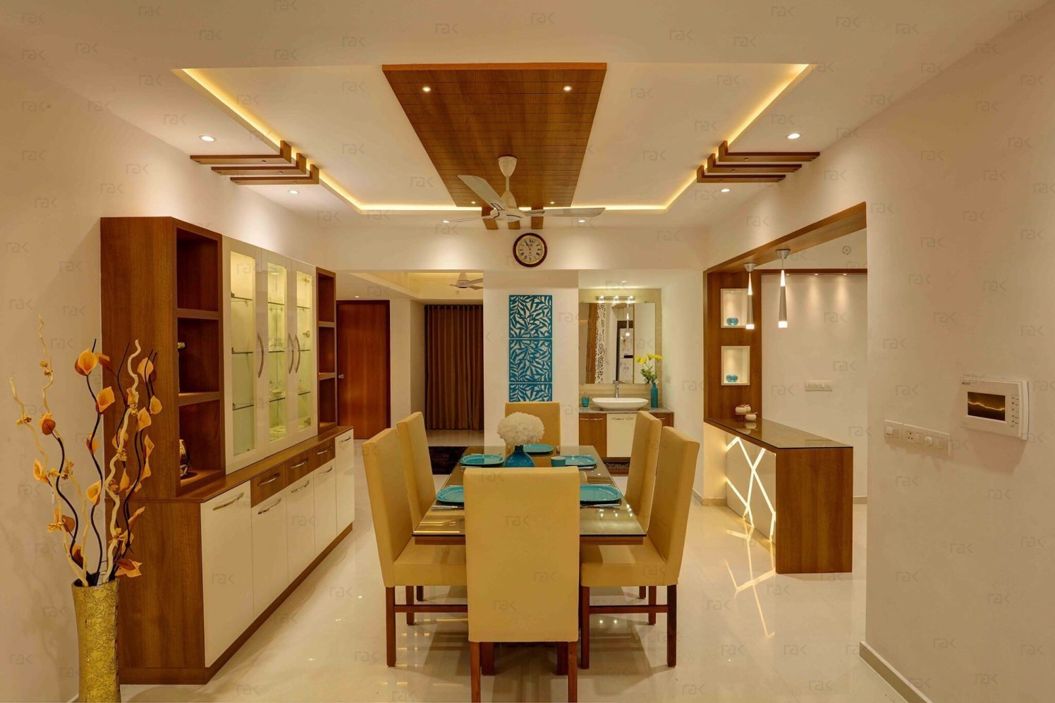 Amazing Dining Room Layout by Right Choice Enterprises Contemporary | Interior Design Photos & Ideas