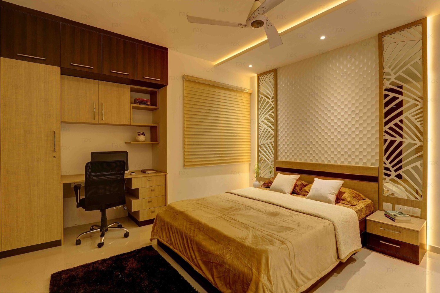 Meticulous Bedroom by Right Choice Enterprises Contemporary | Interior Design Photos & Ideas