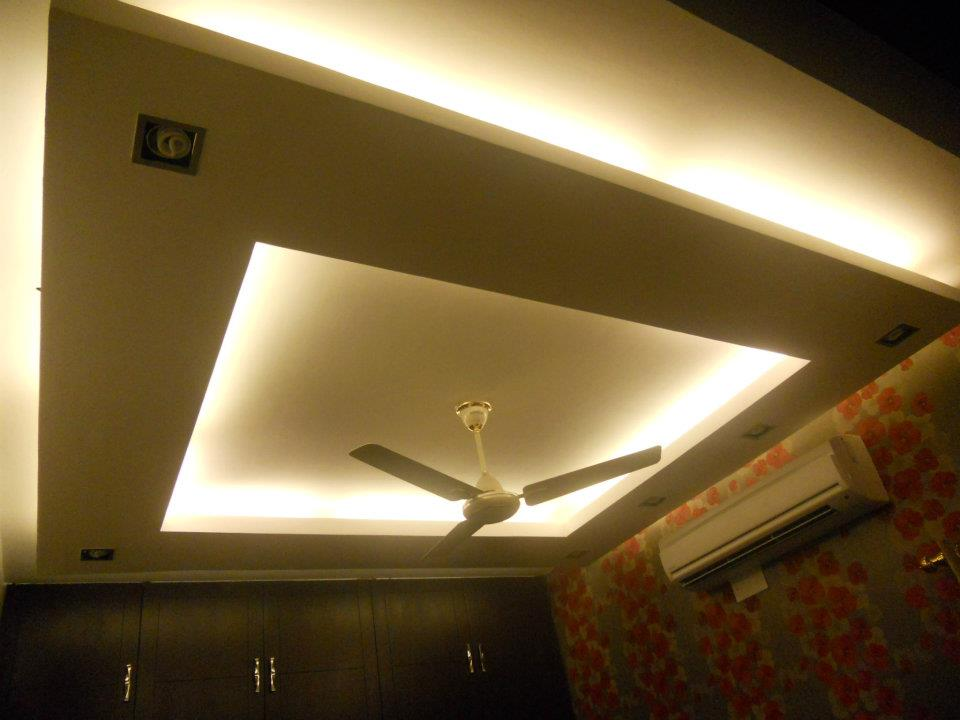 False Ceiling by Spaces Talk Architecture Living-room Modern | Interior Design Photos & Ideas