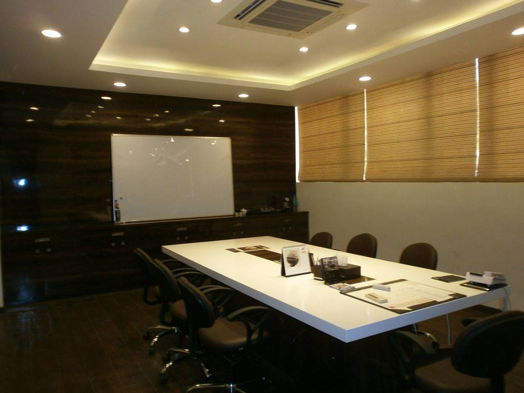 Conference Room Design by Spaces Talk Architecture Modern | Interior Design Photos & Ideas