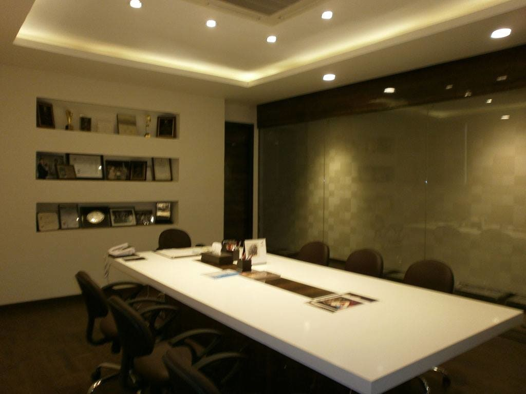 Conference Room by Spaces Talk Architecture Modern | Interior Design Photos & Ideas