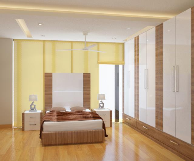 A Sunny Bedroom by Spaces Talk Architecture Bedroom Modern | Interior Design Photos & Ideas