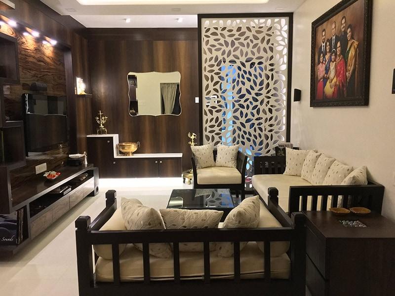 Cozy Seating by Gadkari Properties LLP Contemporary | Interior Design Photos & Ideas