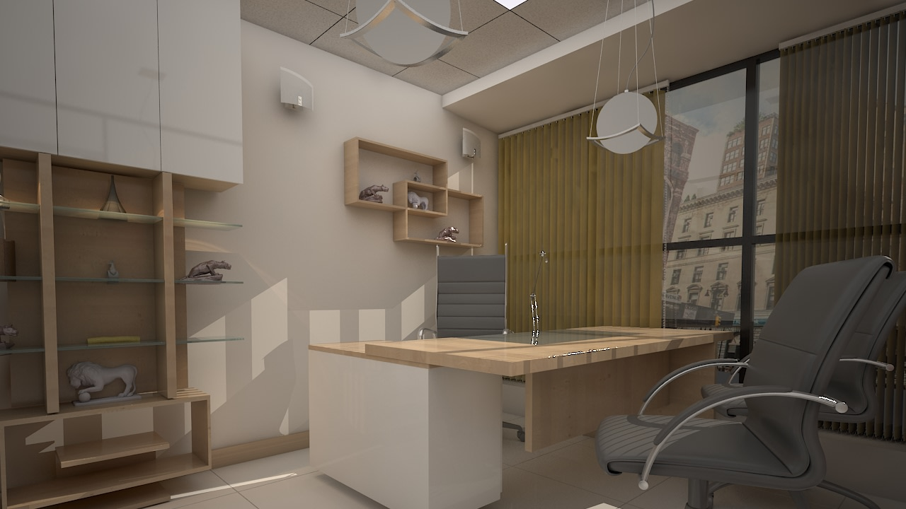 Office Cabin Design! by shuffle pages Modern | Interior Design Photos & Ideas