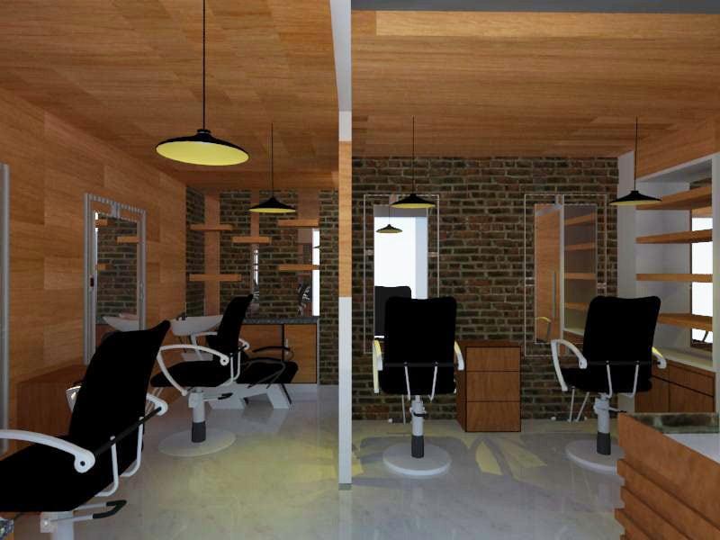 A modern salon design! by shuffle pages Modern | Interior Design Photos & Ideas