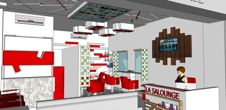 A 3D design of salon! by shuffle pages Contemporary | Interior Design Photos & Ideas