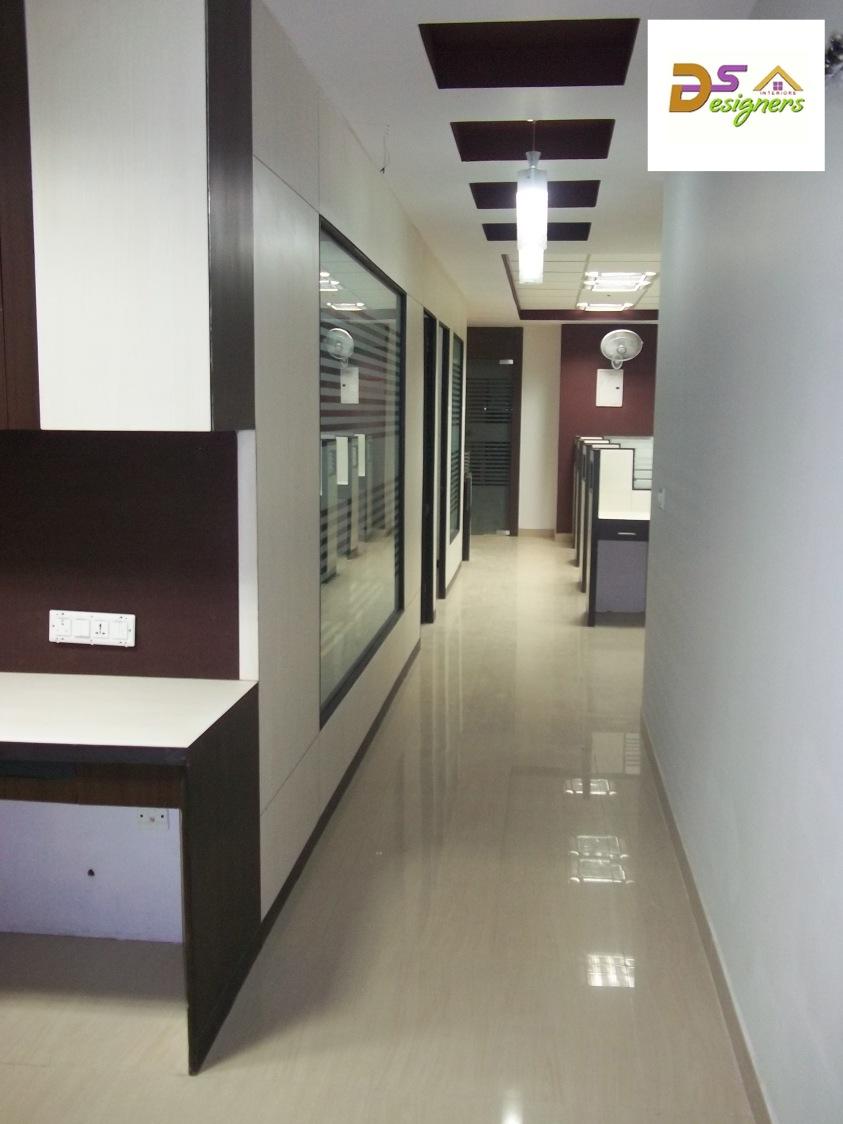 Office Corridor by Shivraj Singh Contemporary | Interior Design Photos & Ideas