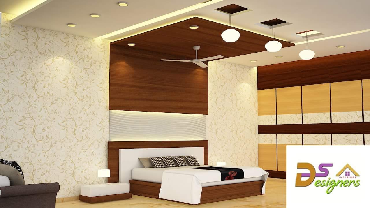 Bedroom With Wooden Box Bed by Shivraj Singh Bedroom Modern | Interior Design Photos & Ideas