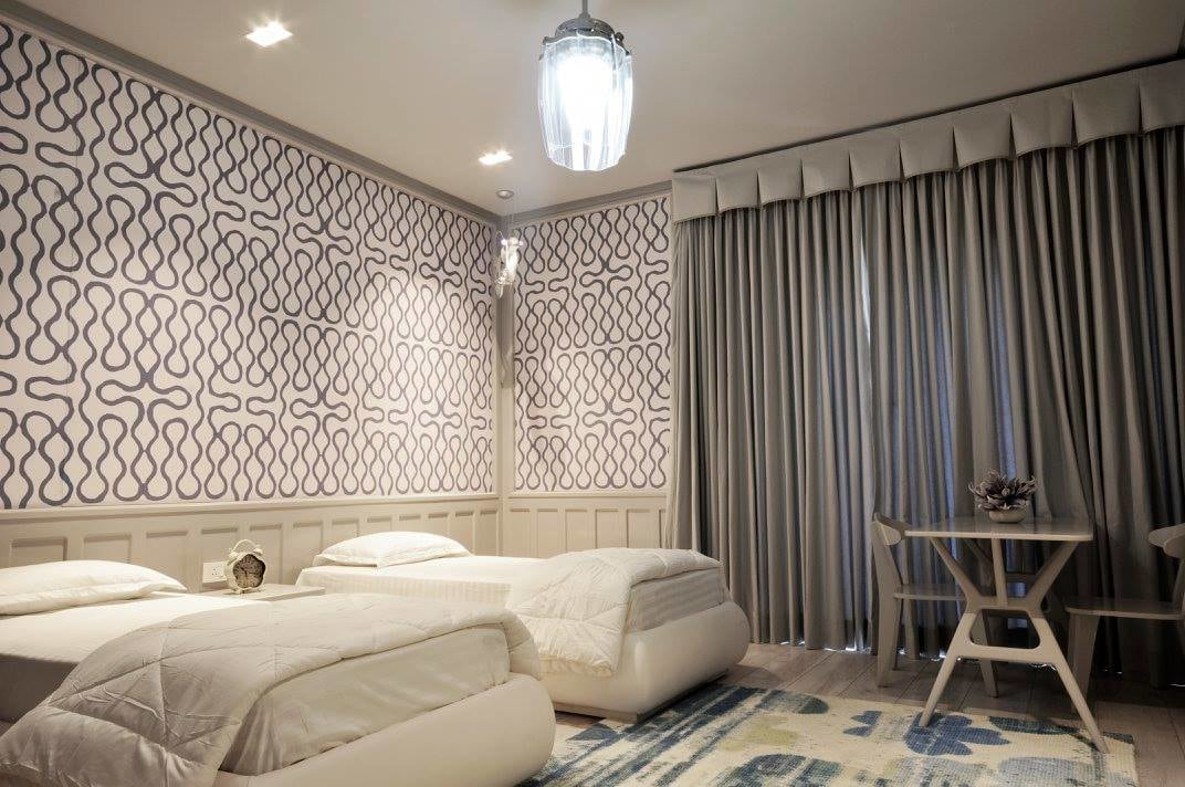 Contemporary Guest Room. by AM Interior Designer Bedroom Contemporary | Interior Design Photos & Ideas