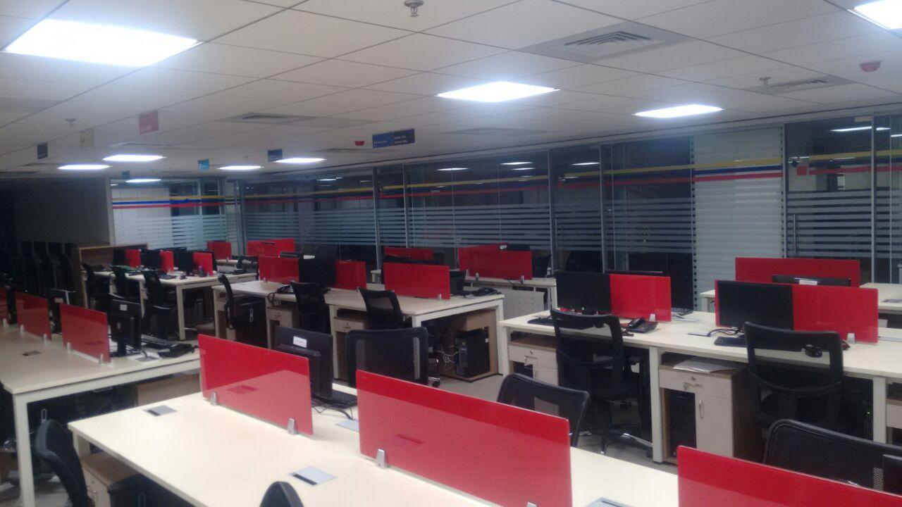 Modern Open Office Space. by jaris khan Modern | Interior Design Photos & Ideas