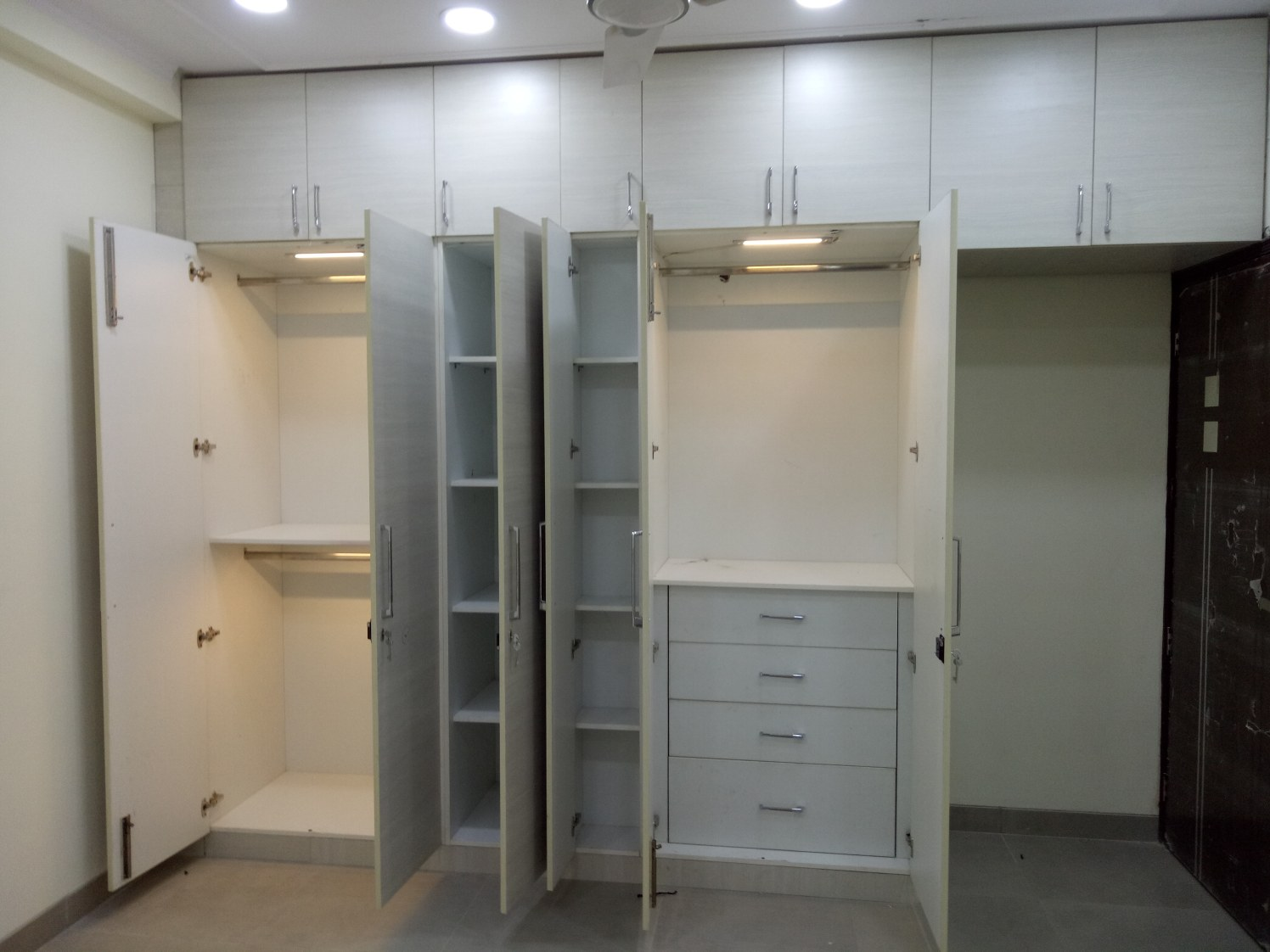 Bedroom Cabinet Closet by Amit Sharma  Indoor-spaces Contemporary | Interior Design Photos & Ideas