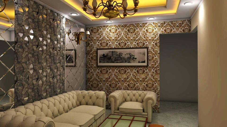 modern living area by fabros interiors Modern | Interior Design Photos & Ideas
