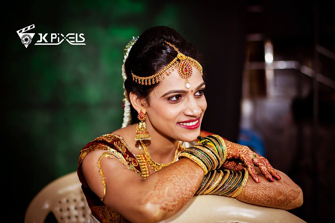 Blandish south Indian bride by JK Pixels Wedding-photography | Weddings Photos & Ideas