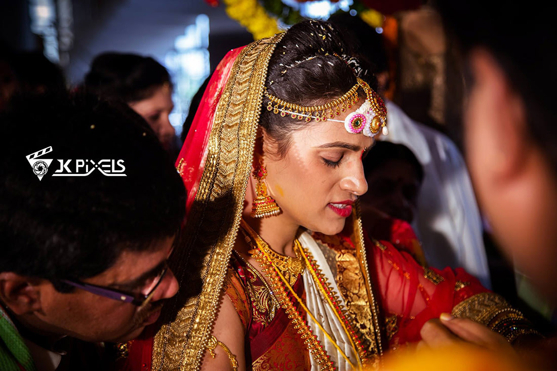 Candid conventional look by JK Pixels Wedding-photography | Weddings Photos & Ideas