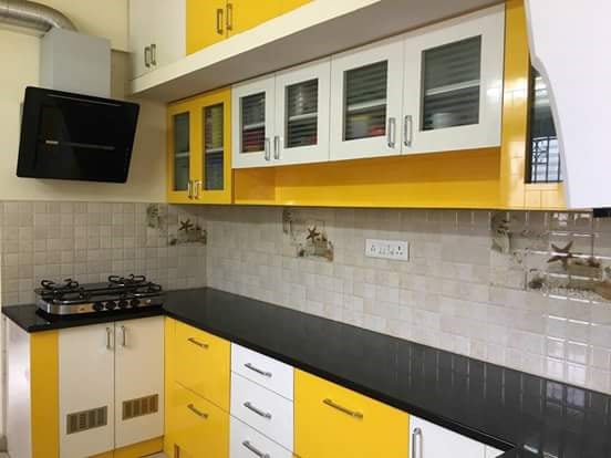 Yellow Love by Legends Interiors Modern | Interior Design Photos & Ideas