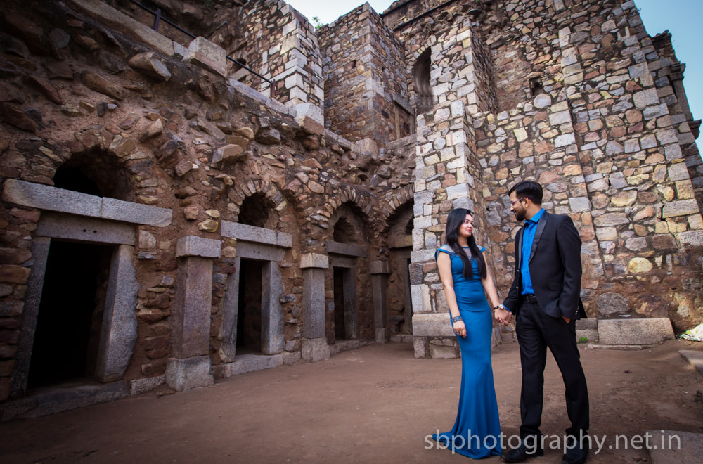 Bride and Groom To-Be Wear Matching Blue Themed Outfits by Sanjay Balyan Wedding-photography Wedding-hairstyles Groom-wear-and-accessories Wedding-dresses | Weddings Photos & Ideas