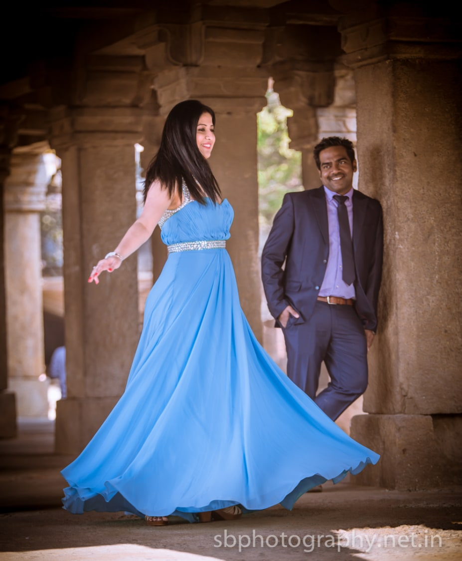 Twirling Bride To-be Wearing Sea-Blue Gown by Sanjay Balyan Wedding-photography Wedding-hairstyles Groom-wear-and-accessories Wedding-dresses | Weddings Photos & Ideas