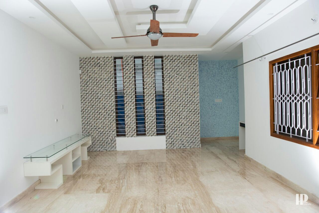 Hallway With marble Flooring by Dhanu Nayak Indoor-spaces | Interior Design Photos & Ideas