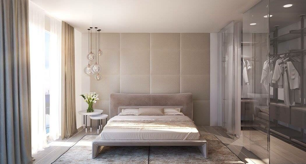 A simple bedroom! by crosshomes.in  Bedroom Modern | Interior Design Photos & Ideas