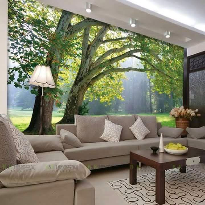 An earthy living room! by crosshomes.in  Living-room Contemporary   Interior Design Photos & Ideas
