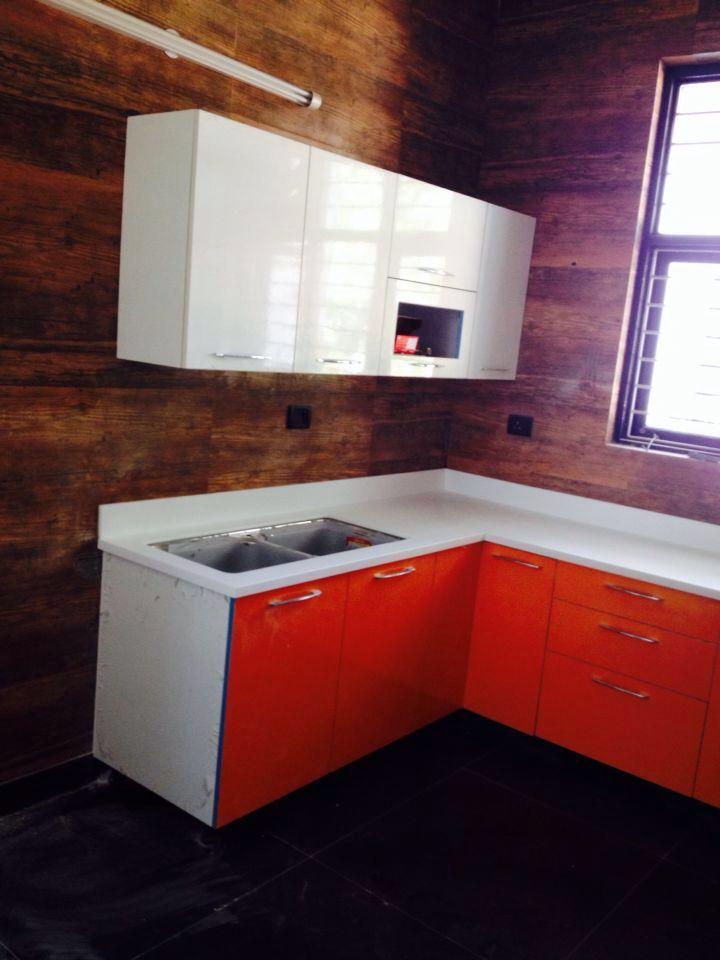 Modular Kitchen! by crosshomes.in  Modular-kitchen Modern | Interior Design Photos & Ideas