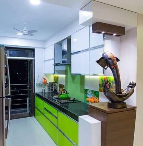 Modern Modular Kitchen! by crosshomes.in  Modular-kitchen Modern | Interior Design Photos & Ideas