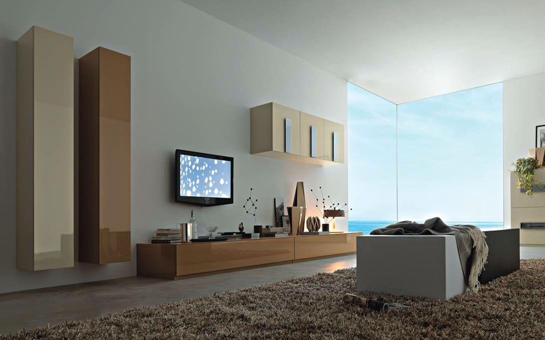 A Modern cum Contemporary Living Room! by crosshomes.in  Living-room Modern | Interior Design Photos & Ideas