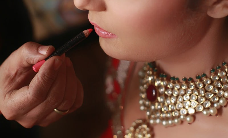 Beautifying with rouge by Rachit Handa Photography Wedding-photography | Weddings Photos & Ideas