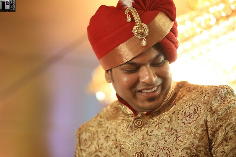Groom's happiness by Rachit Handa Photography Wedding-photography | Weddings Photos & Ideas