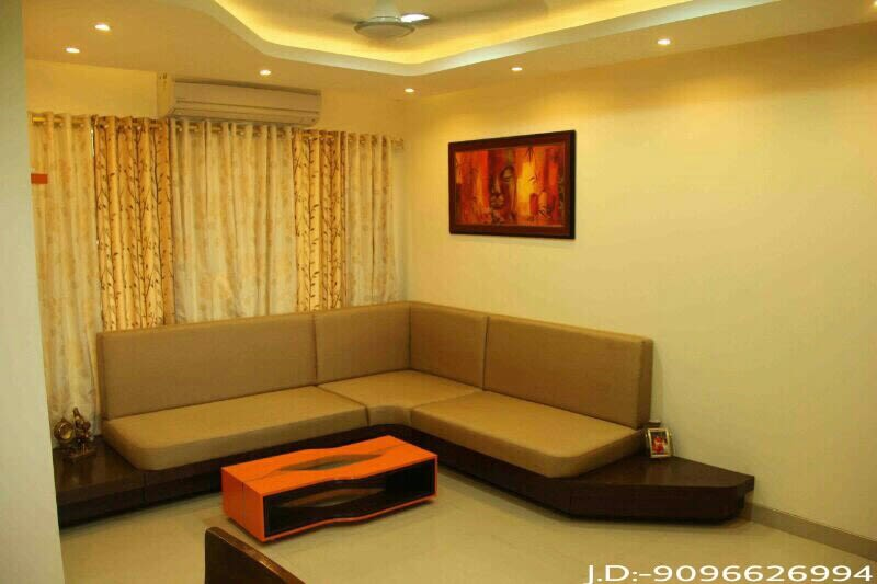 Toffee Colored Living Room by Amazing Home Living-room Modern | Interior Design Photos & Ideas