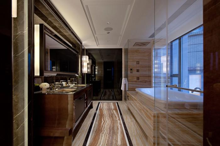 Premium Bathroom With Rufous Shade by Mohit Kumar Bathroom Modern   Interior Design Photos & Ideas