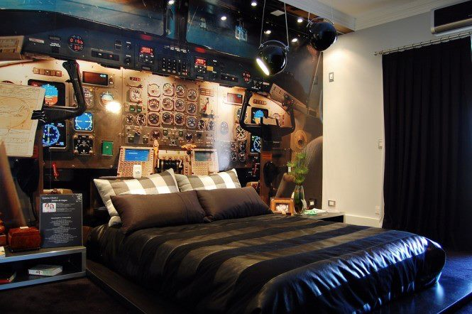 Kids Bedroom With Scientific Theme by Mohit Kumar Bedroom Contemporary | Interior Design Photos & Ideas