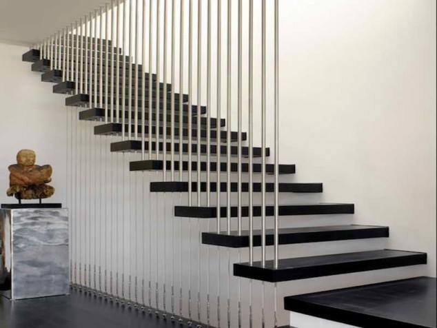 Grill Designed Staircase by Mohit Kumar Indoor-spaces Modern | Interior Design Photos & Ideas
