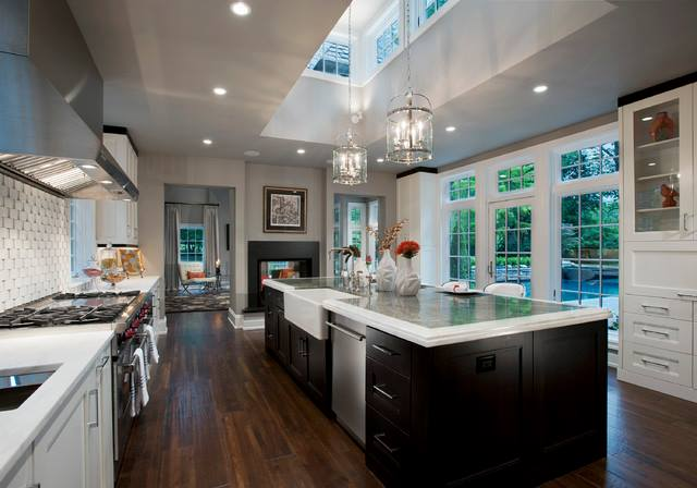 Brown Mahogany Shaded Modular Kitchen by Mohit Kumar Modular-kitchen Modern | Interior Design Photos & Ideas