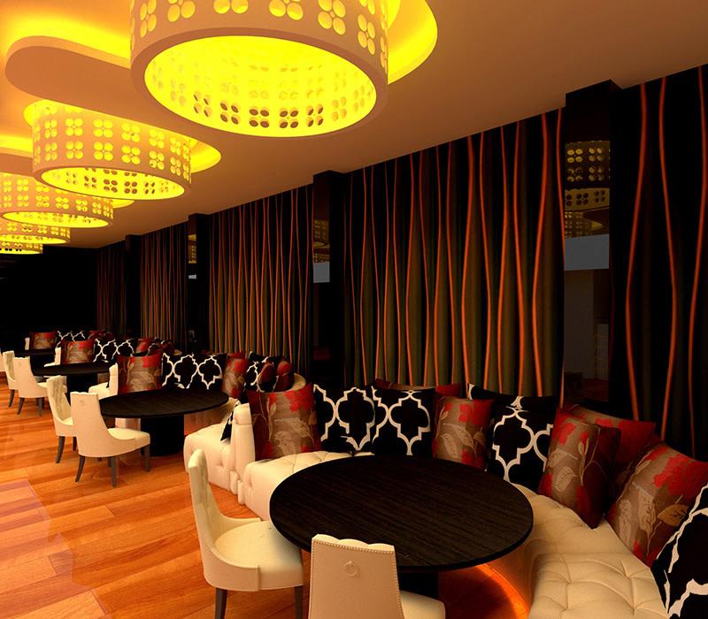 Contemporary Restaurant Decor by Odd architecture studio  Contemporary | Interior Design Photos & Ideas
