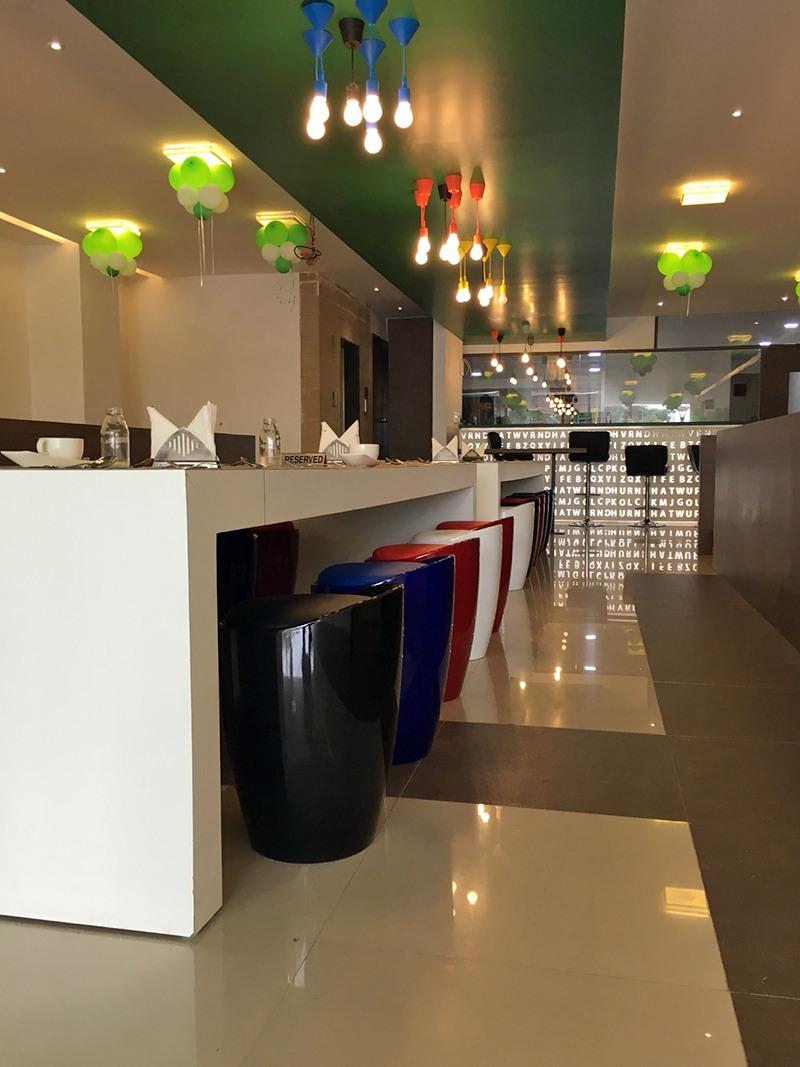 Restaurant hallway by Jai Patel Contemporary   Interior Design Photos & Ideas