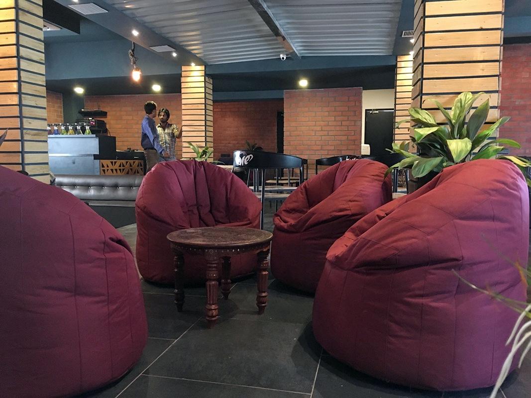 Fun at restaurant by Jai Patel Contemporary | Interior Design Photos & Ideas