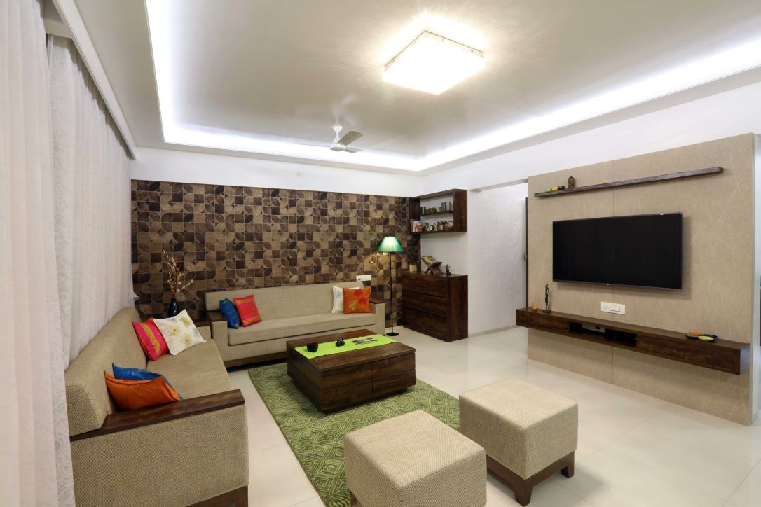 Spacious for family and friends Gathering by Pallavi Doshi Modern | Interior Design Photos & Ideas
