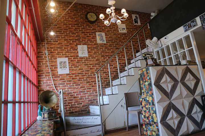 Mediterranean Styled Cafe Staircase with Chandelier by Ajinkya Chinchkar Contemporary | Interior Design Photos & Ideas