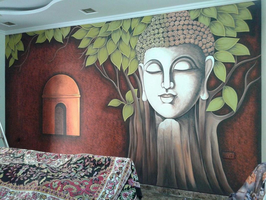 Eye Of The Buddha by Mukesh Kapoor