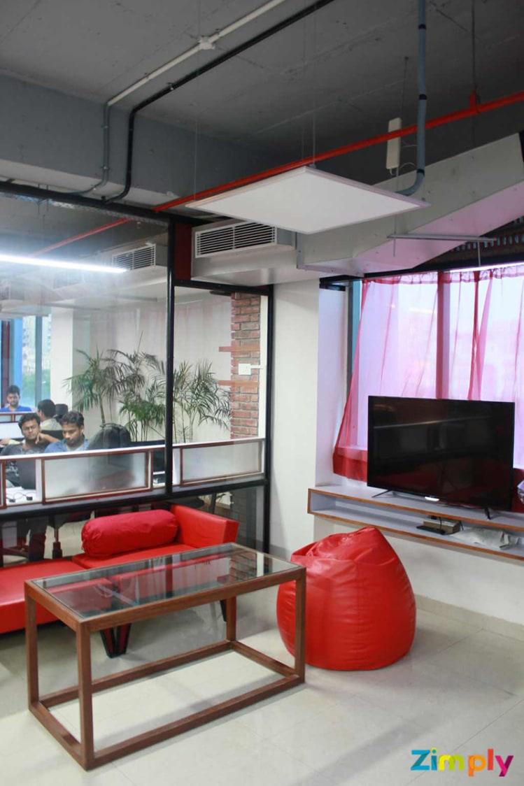 Cozy Office Corner by Aditya  Modern | Interior Design Photos & Ideas