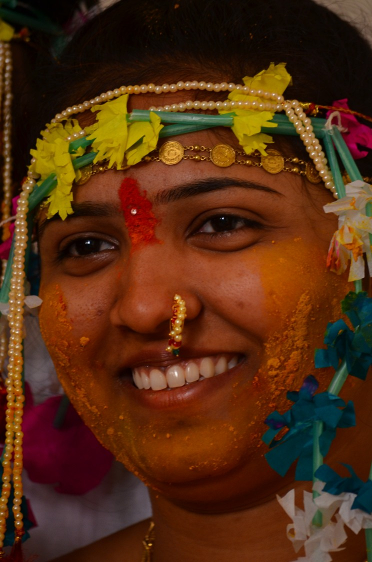 Marathi Bride Haldi by vivek mishra  Wedding-photography | Weddings Photos & Ideas