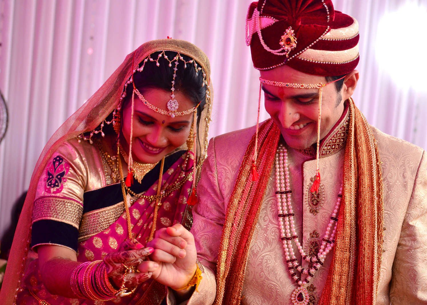Bride And Groom by vivek mishra  Wedding-photography | Weddings Photos & Ideas