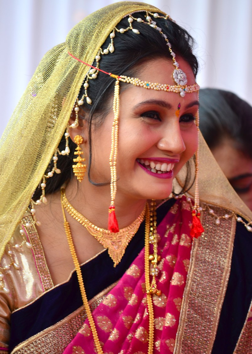 Flawless Smile by vivek mishra  Wedding-photography Bridal-jewellery-and-accessories Bridal-makeup | Weddings Photos & Ideas