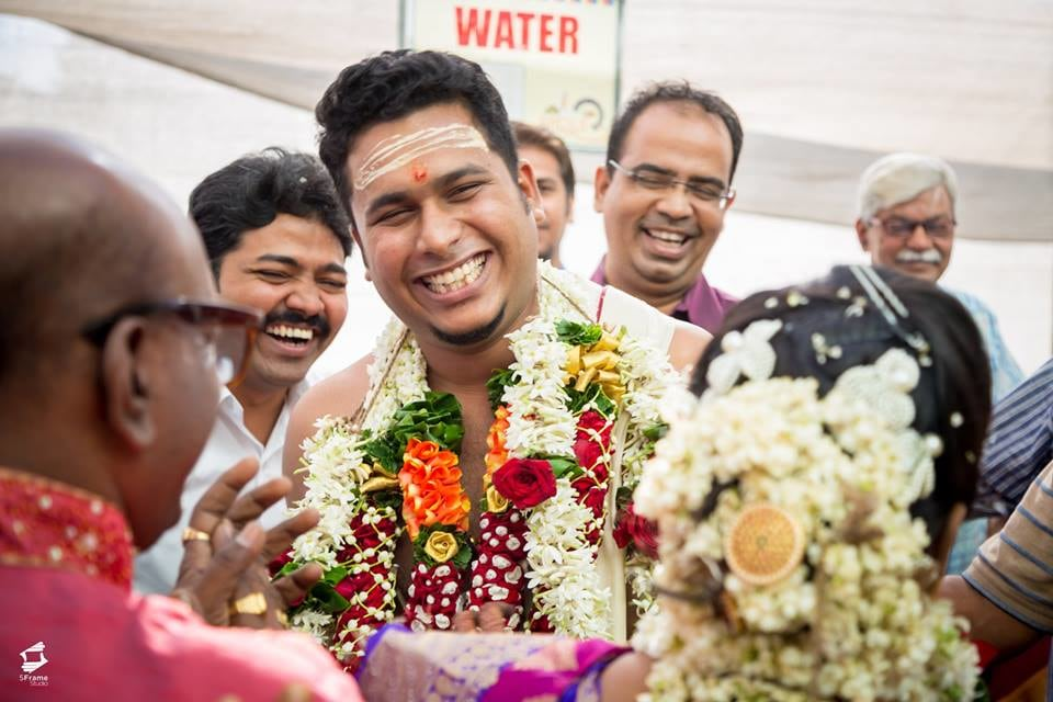 Smilng Groom by 5Frame Studio Wedding-photography | Weddings Photos & Ideas