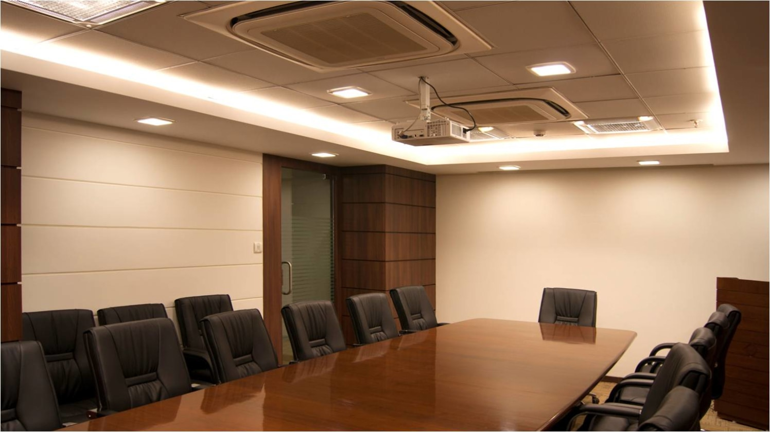 Modern Office Conference Room! by Red Touch Interior & Retail Designers Modern | Interior Design Photos & Ideas